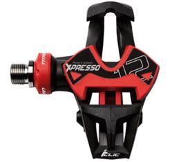 pedala time xpresso 12 titan carbon  black/red