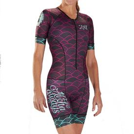 zoot w ltd tri aero ss race suit   aloha