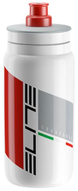 plastenka elite fly  granfondo white 550ml