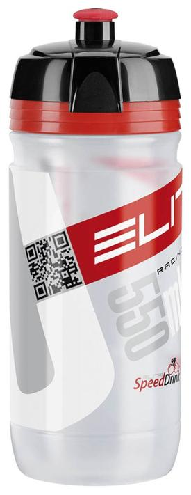 plastenka elite corsa  clear/red 550ml