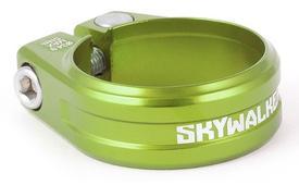 objemka opore sedeŽa sixpack skywalker vijak zelena 34,9mm