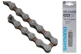 veriga shimano cn-hg40 116l 6-7-8p