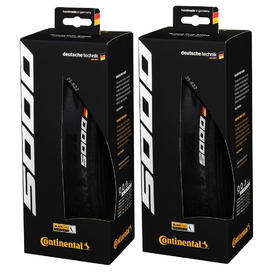 plaŠČ continental gp5000 700x25 (622-25) folding black 2kos