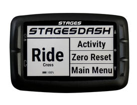 stages dash cycling computer black