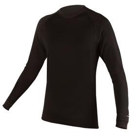 majica endura baabaa merino l/s  baselayer  black