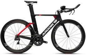 kolo argon18 e-117 tri  ultegra di2 dual black/red 2020
