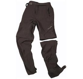 hlaČe endura hummvee zip-off trouser ii black