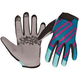 rokavice endura kids hummvee glove ii teal