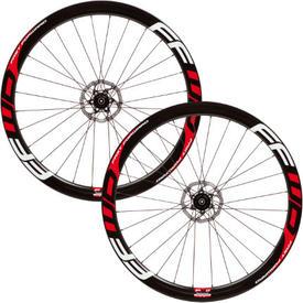 obroČniki ffwd f4r full carbondisc clincher dt240 red/white