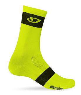 nogavice giro comp racer high risehighlight yellow/black