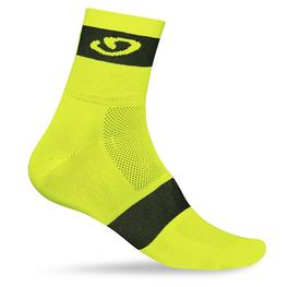 nogavice giro comp racer highlight yellow/black