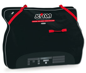 scicon travel plus	 mtb bike bag black
