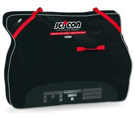 scicon travel plusmtb bike bag black