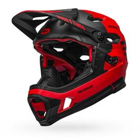 Čelada bell super dh mips  matt/gloss red/black fasthouse