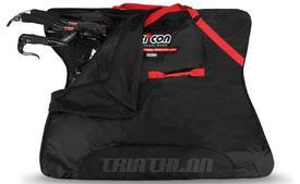 scicon travel plustriathlon bike bag black