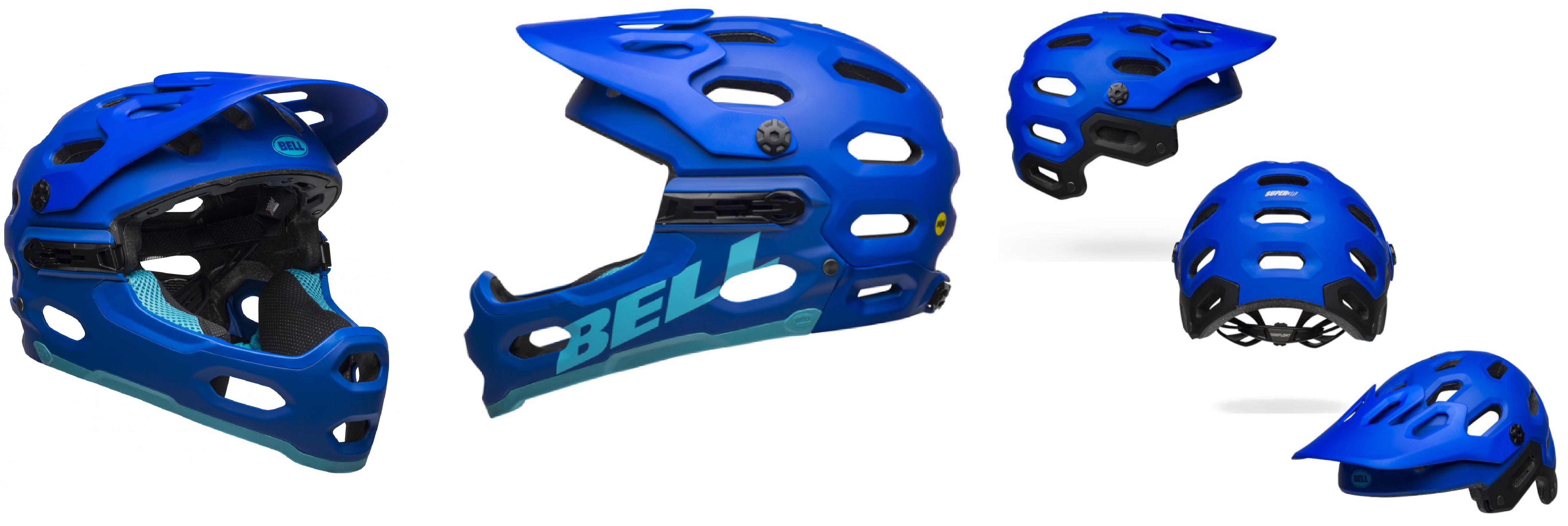 Čelade Bell Super 3R sta pravzaprav dve čeladi v eni!