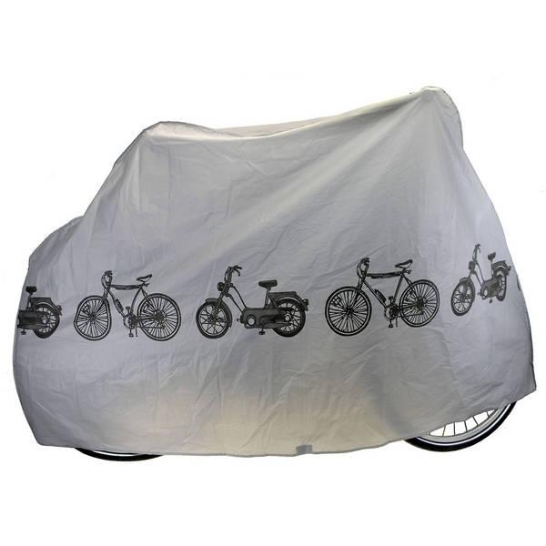Z zaščitno prevleko bo vaše kolo ali manjši motor vedno varen pred dežjem, prahom in umazanijo. Prevleka je zložljiva in vam ne bo vzela veliko prostora tudi na potovanjih.