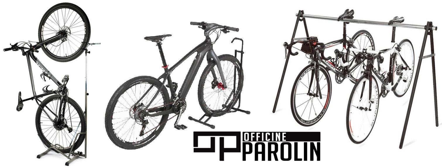 Stojala za shranjevanje vseh vrst koles.