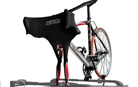 Elastične prevleke iz Lycre za transport kolesa na strehi vozila. Zaščita kolesa pred insekti in prahom. Za gorska, triatlon in cestna ter treking kolesa.